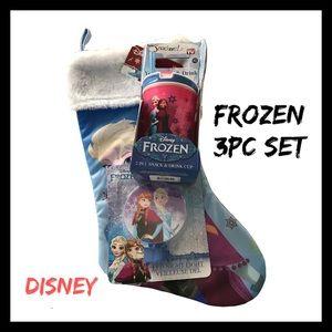 Disney Frozen 3Pc Set NWT